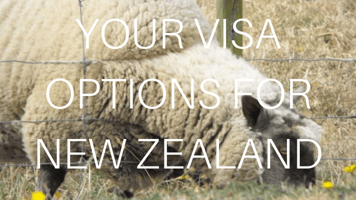NEW ZEALAND VISA OPTIONS