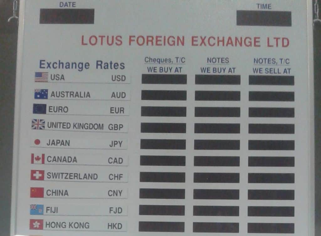 Keep an eye on the exchange rate.