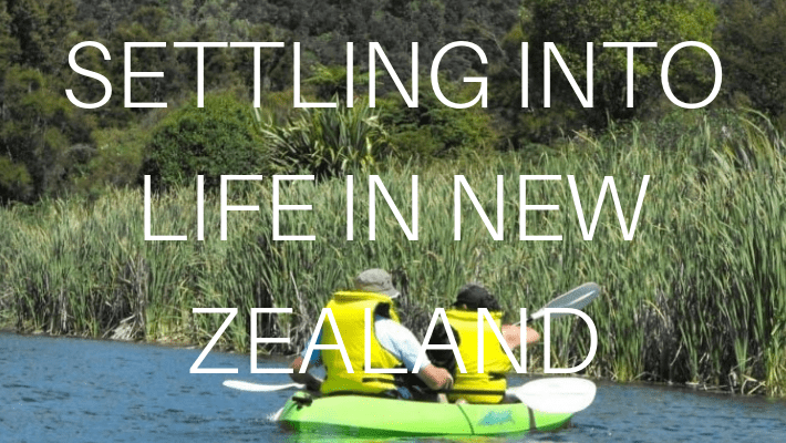 NEW ZEALAND SETTLING INTO LIFE IN NZ