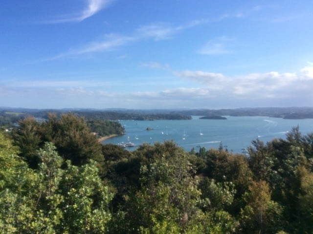 Beautiful view of The Bay of Islands from Russell