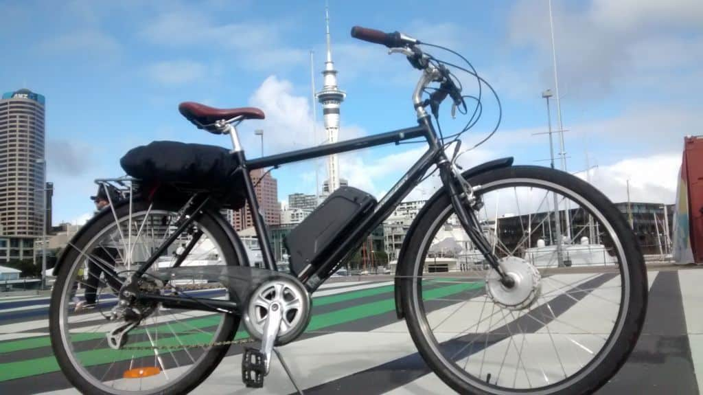 Discovering Electric Bikes in Auckland