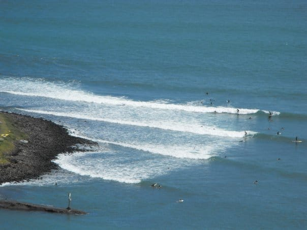 Surf at Raglan