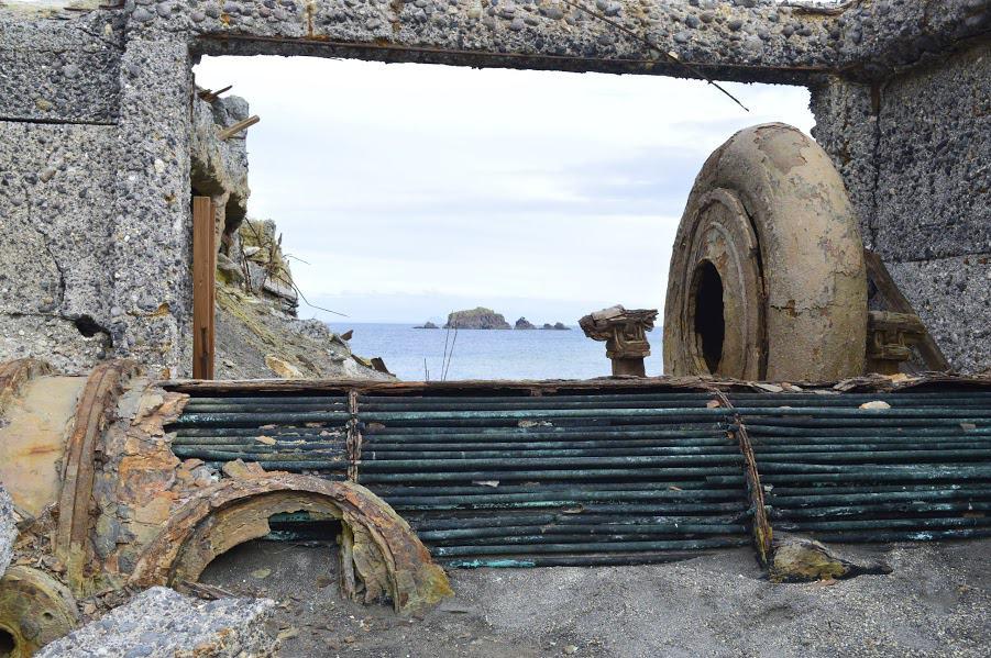 White Island Ruins
