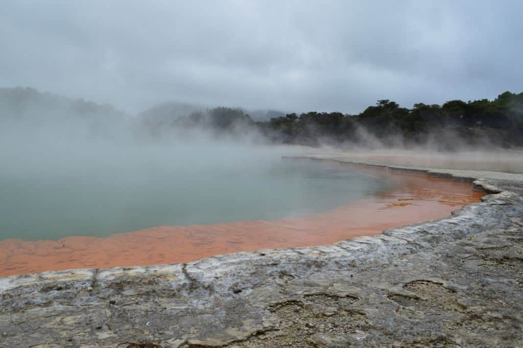 Champagne Pool - Yes it really is that orange!