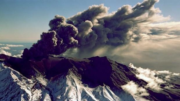 Mt Ruaphehu Volcanoe