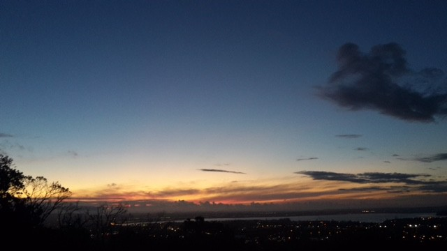 mt eden sunset