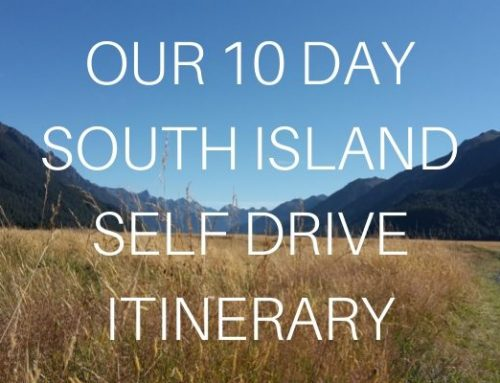 Our 10 day South Island Self Drive Itinerary