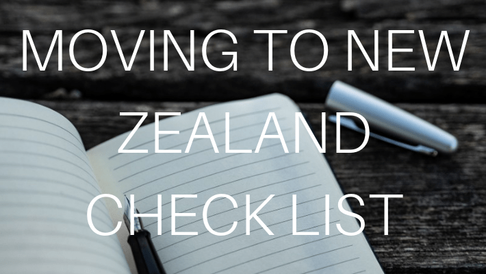 Moving to New Zealand Checklist