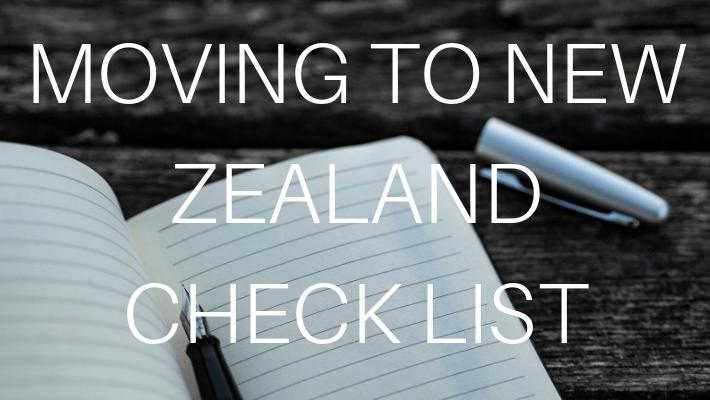 NEW ZEALAND CHECKLIST