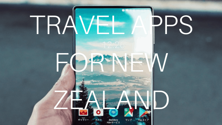 TRAVEL APPS NEW ZEALAND
