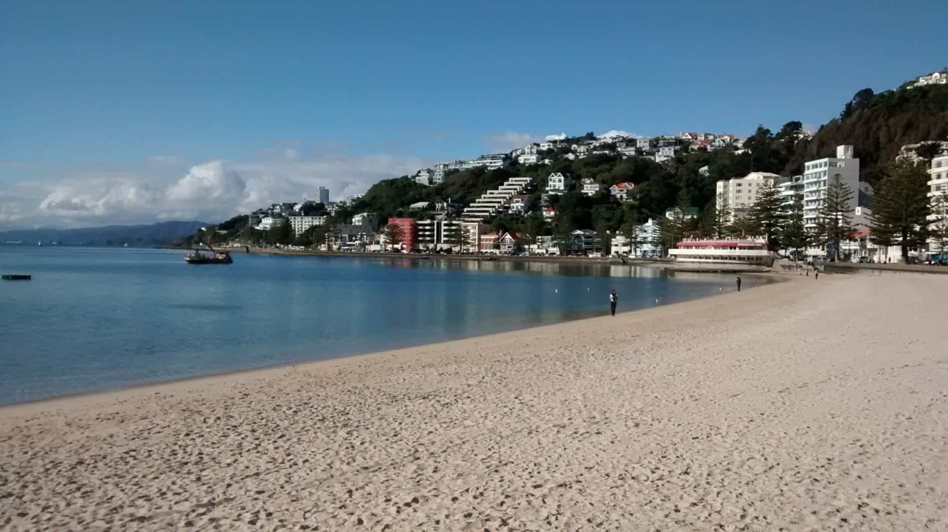 Oriental Parade Wellington