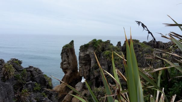 Pancake Rocks Going NZ