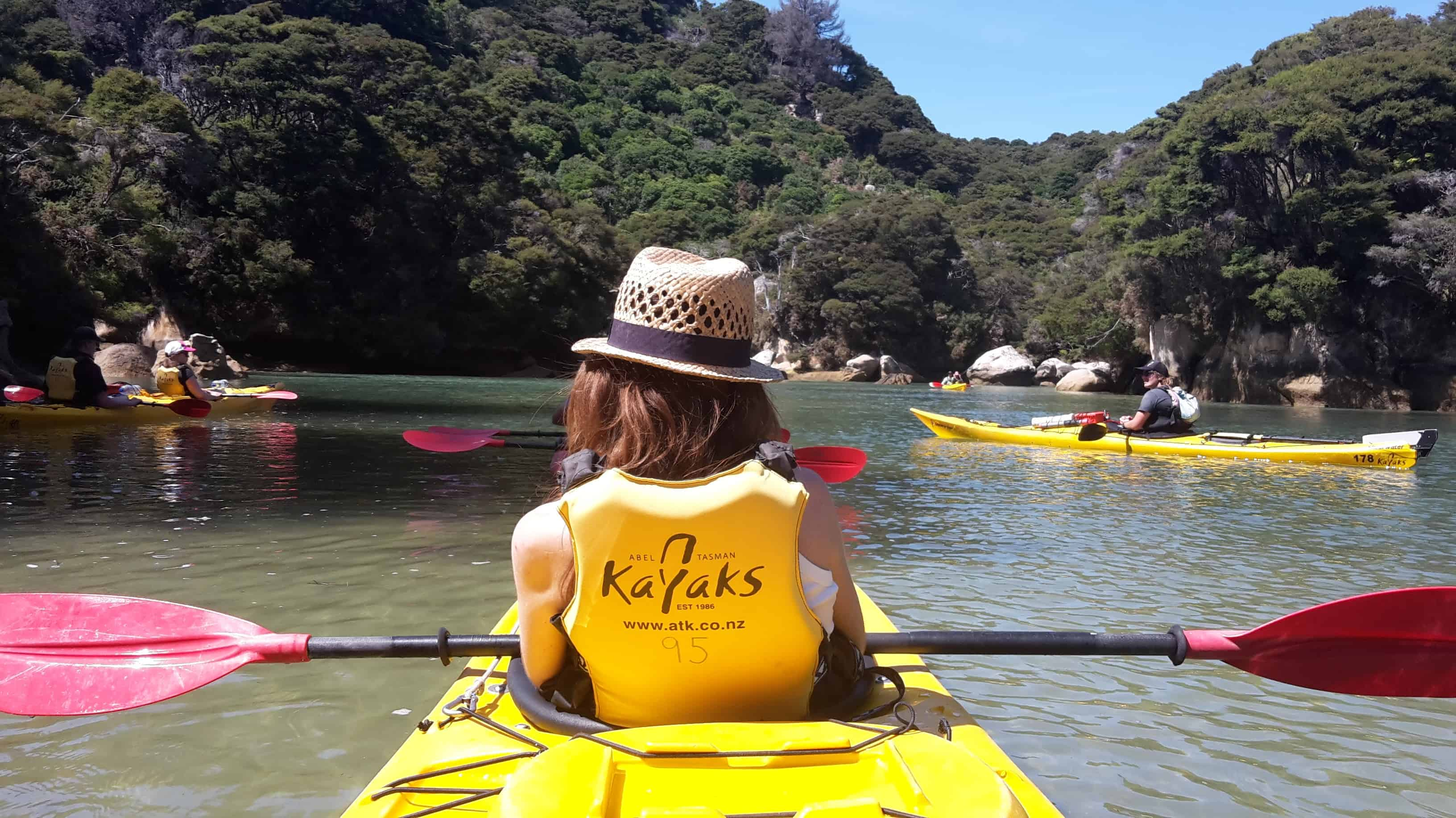 Kayaking Abel Tasman GoingNZ