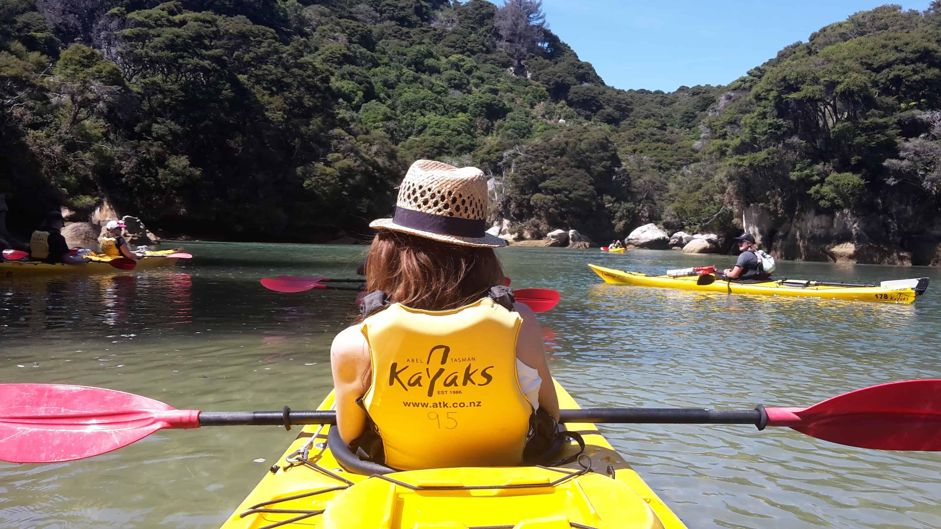 Kayaking Abel Tasman GoingNZ
