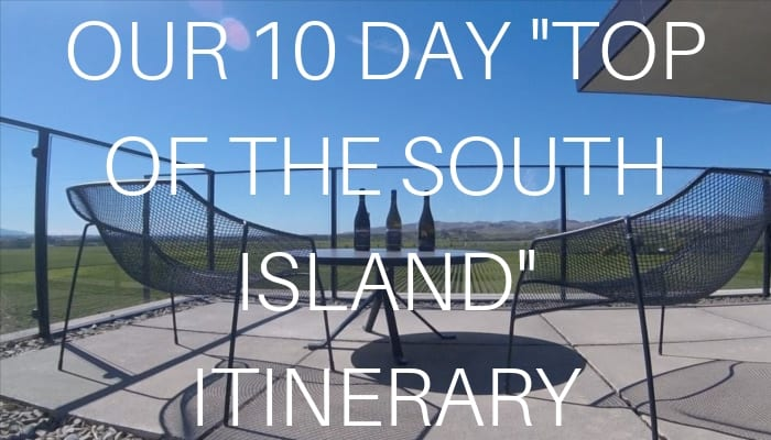 10 DAY TOP OF THE SOUTH ISLAND