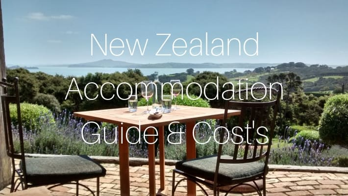 New Zealand Accommodation Guide & Cost's