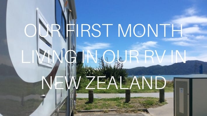 LIVING IN OUR RV IN NZ
